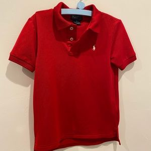 Polo by Ralph Lauren Shirts & Tops - Boys Red Polo light weight collared shirt